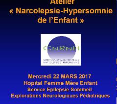 Atelier  « Narcolepsie-Hypersomnie  de l'Enfant »