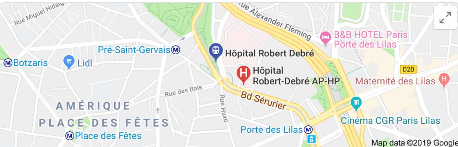 Hôpital Robert Debré